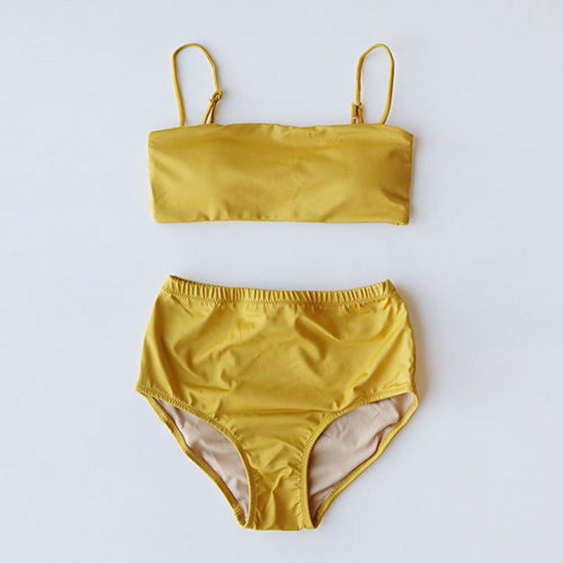 -4 colors- minimal bandeau bikini