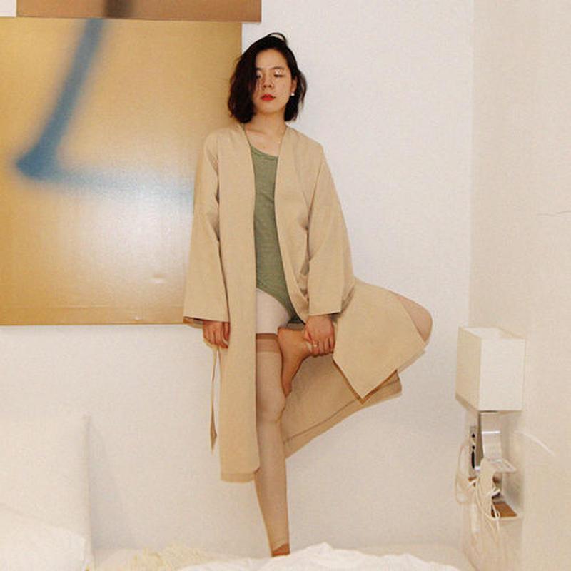 simplicity gown coat