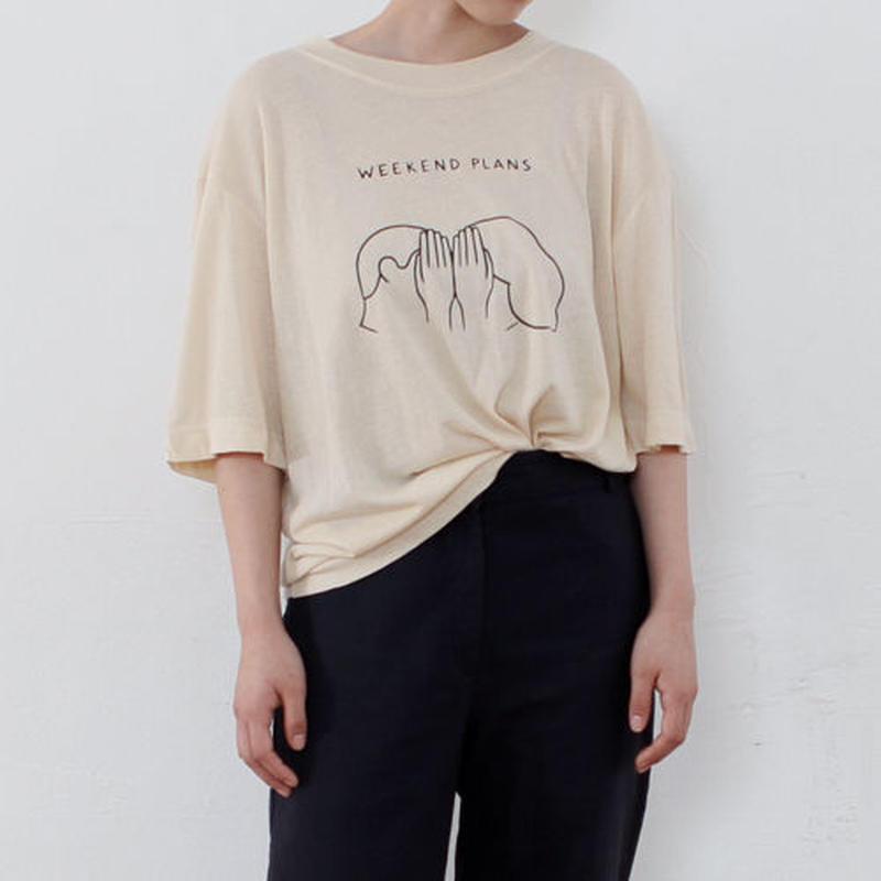 -weekend plan- t-shirt