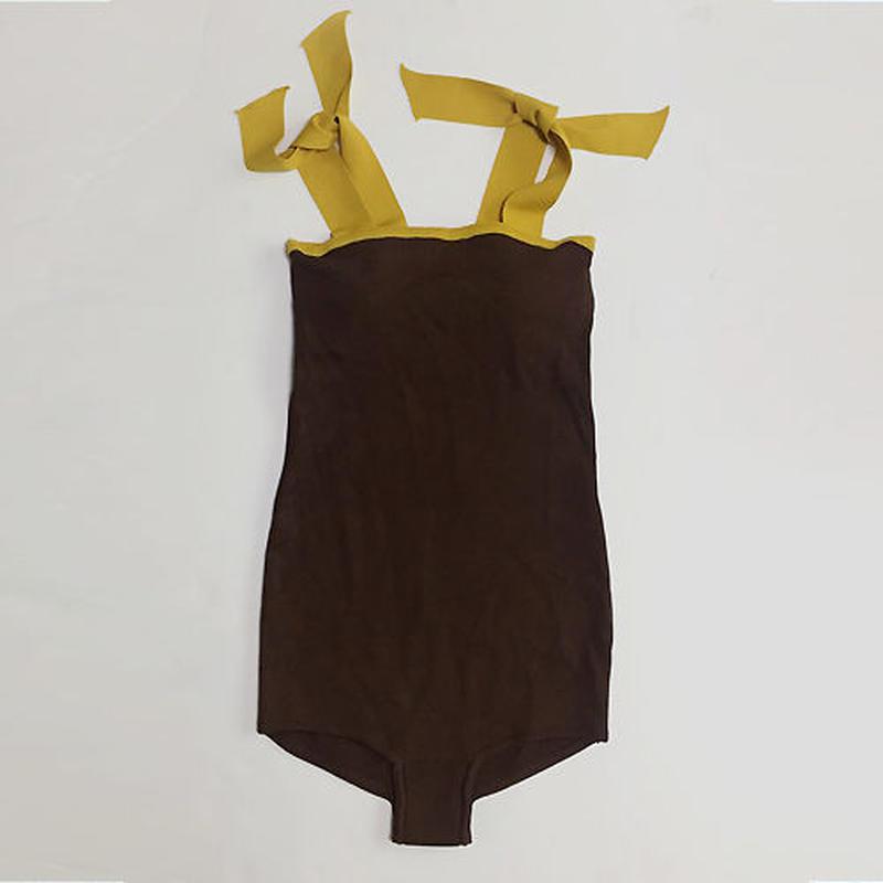 -20% off- 2 colors- bicolor ribbon onepiece bikini