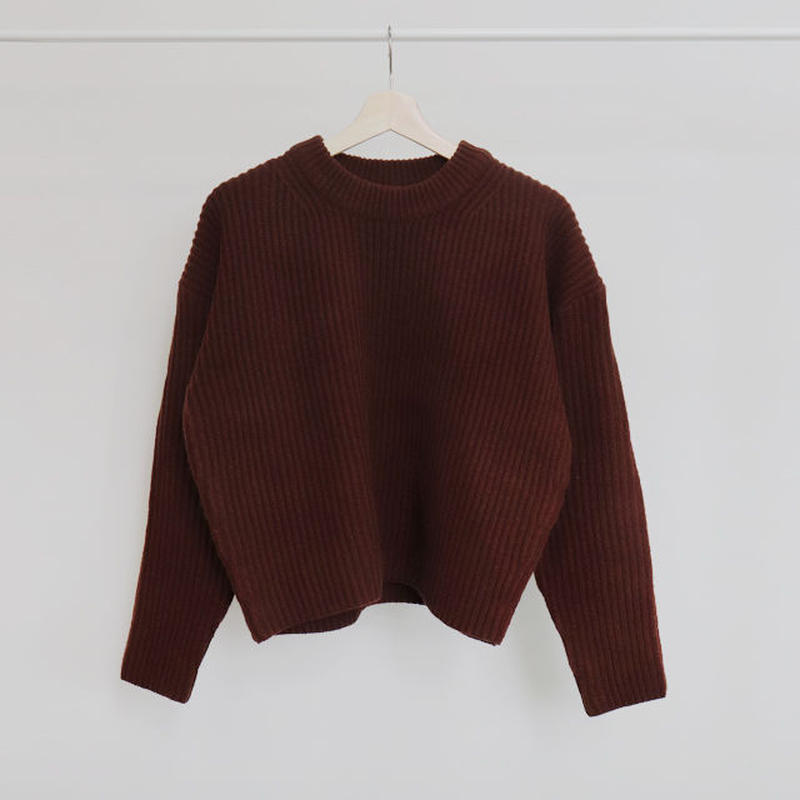 [ sample SALE ] room knit setup -top-
