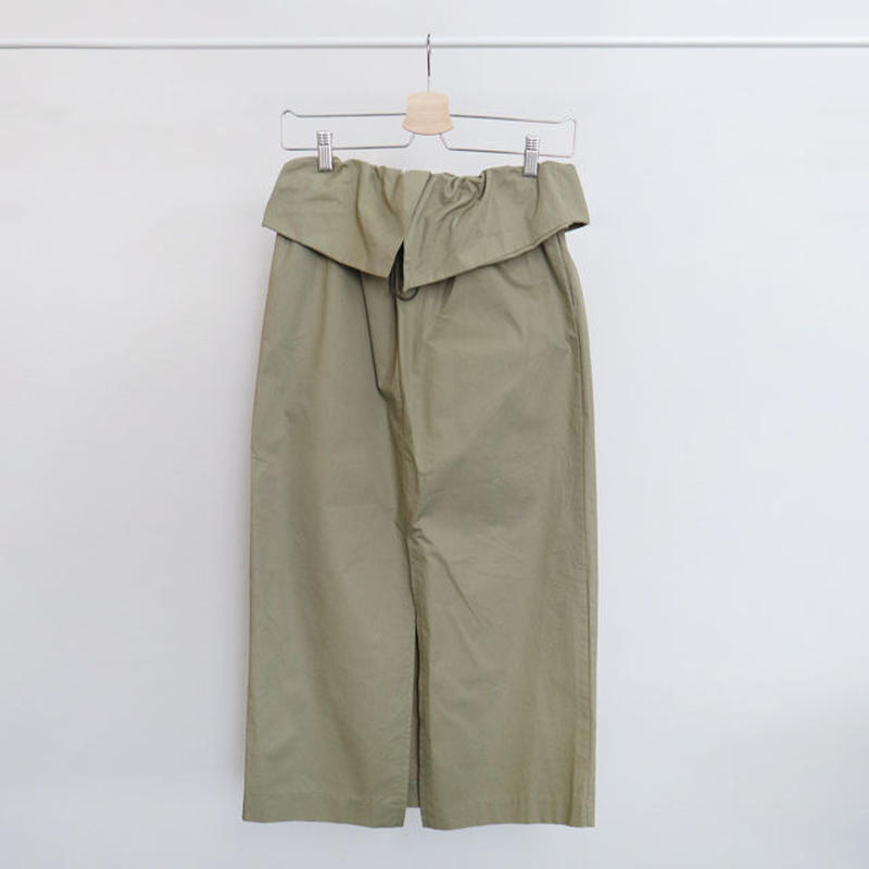 [ sample SALE ] waist hem easy work skirt