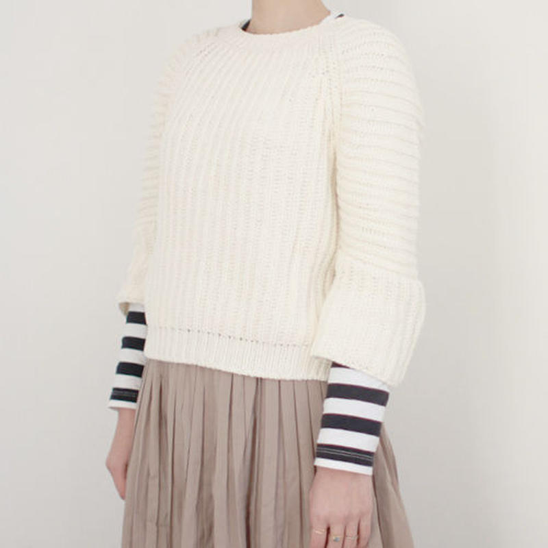 marron spring knit