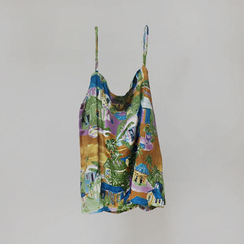 island print camisole