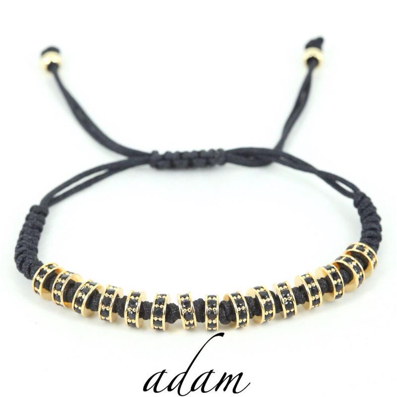 macrame M bracelet