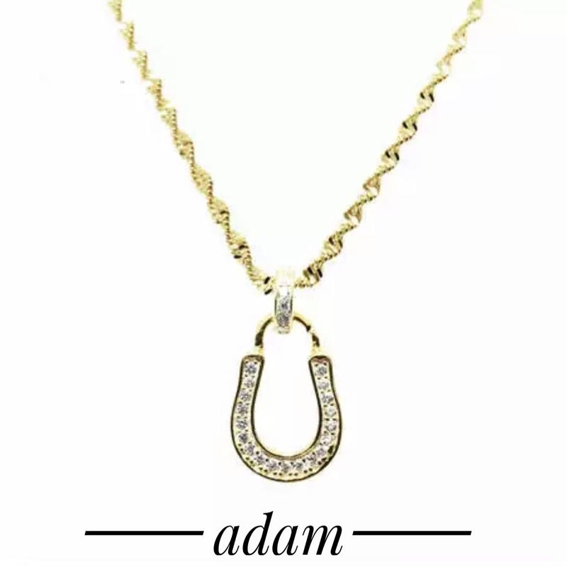 U-hoof simple necklace