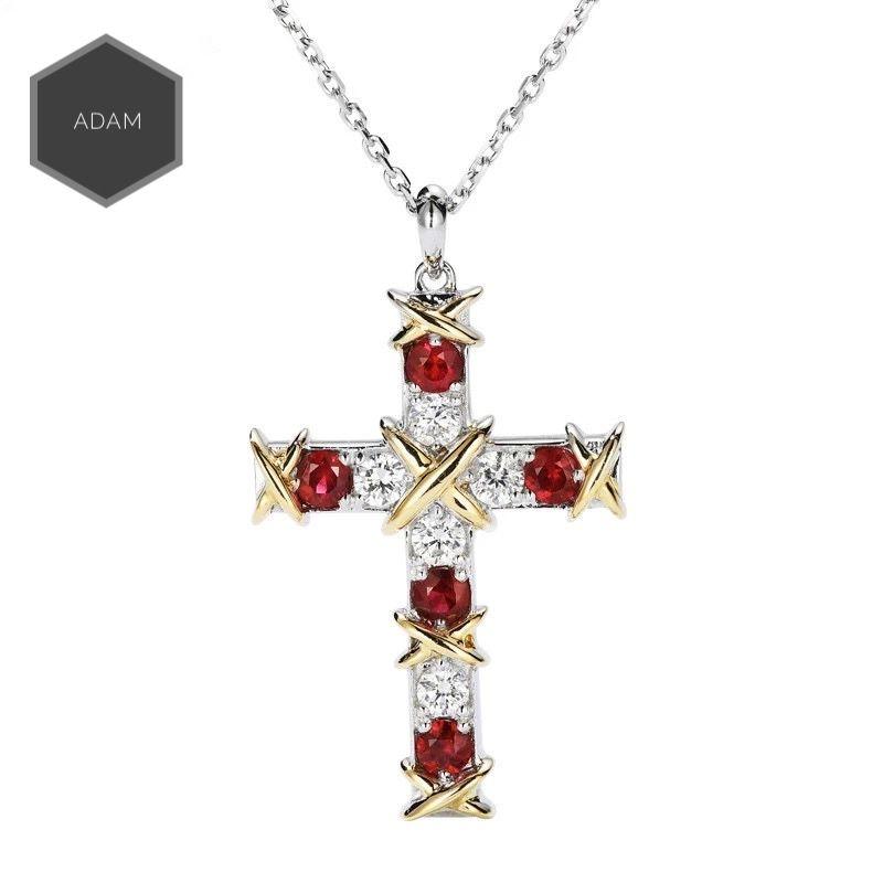 La croce R necklace