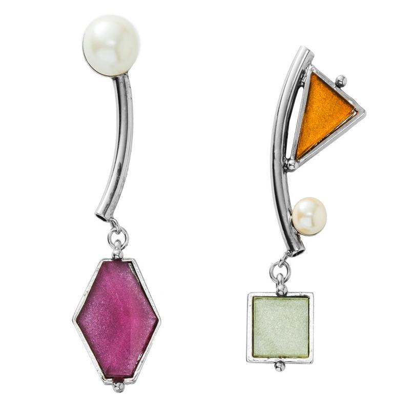 VITRAIL mobile pierce/earring(silver)