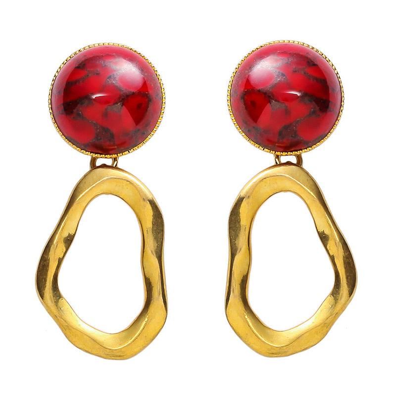 COSMO stone pierce/earring (gold)