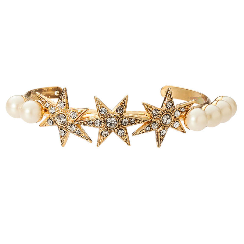 STAR pearl bangle