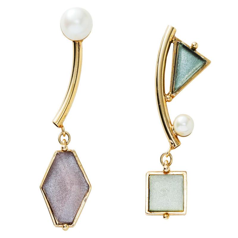 VITRAIL mobile pierce/earring(gold)