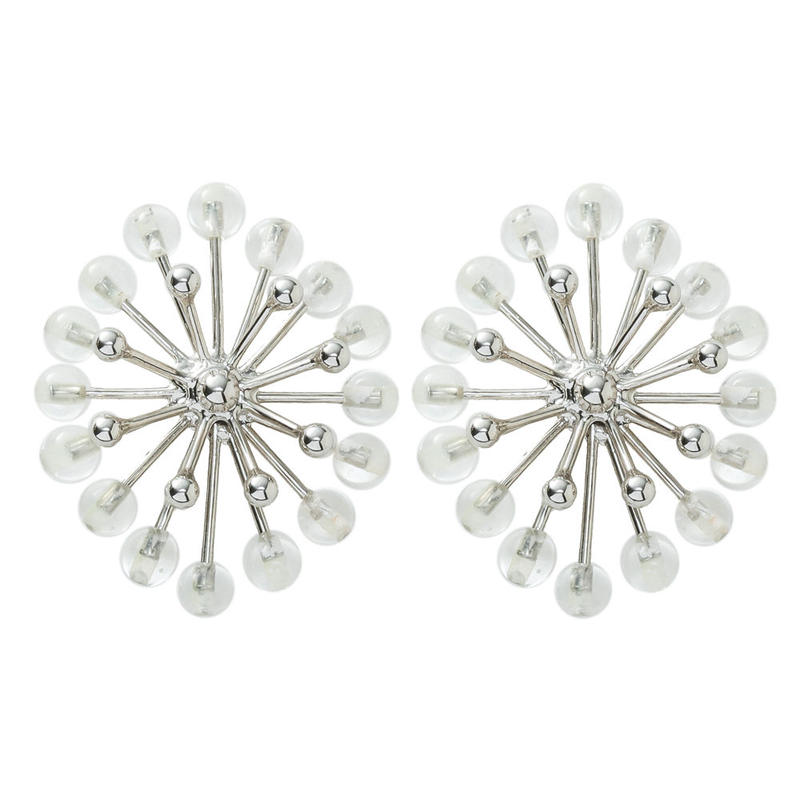 FILIGREE flower earring