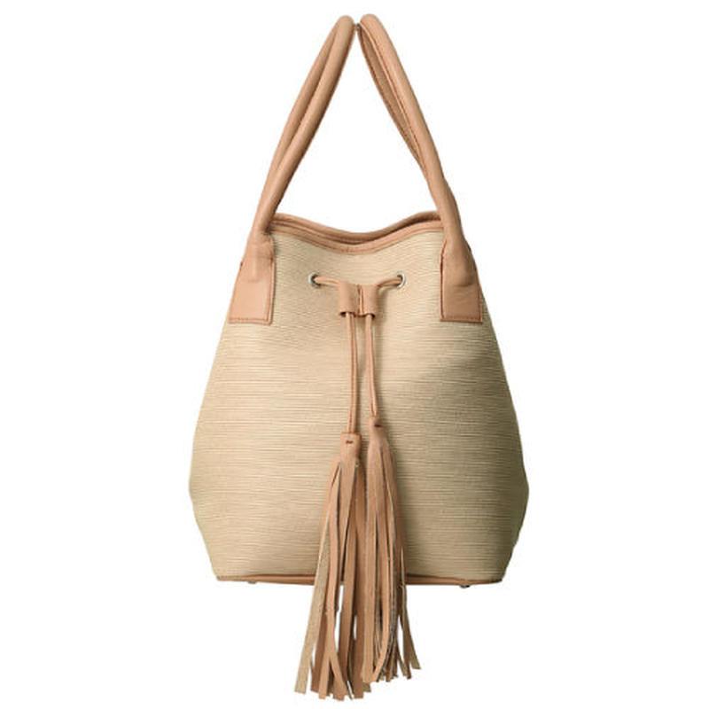 CUBE hand bag(nude)
