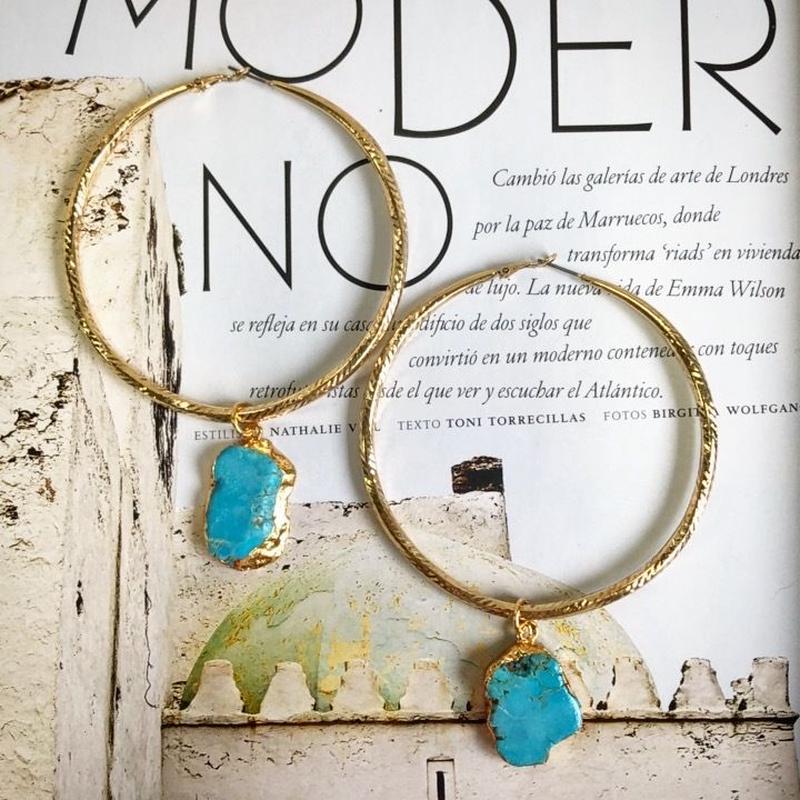 Greek Handmade Jewelry (turquoise)