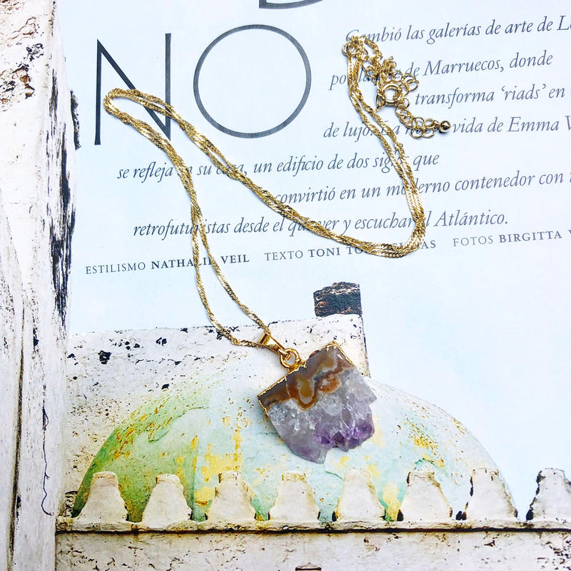 Greek Handmade Jewelry (amethyst)