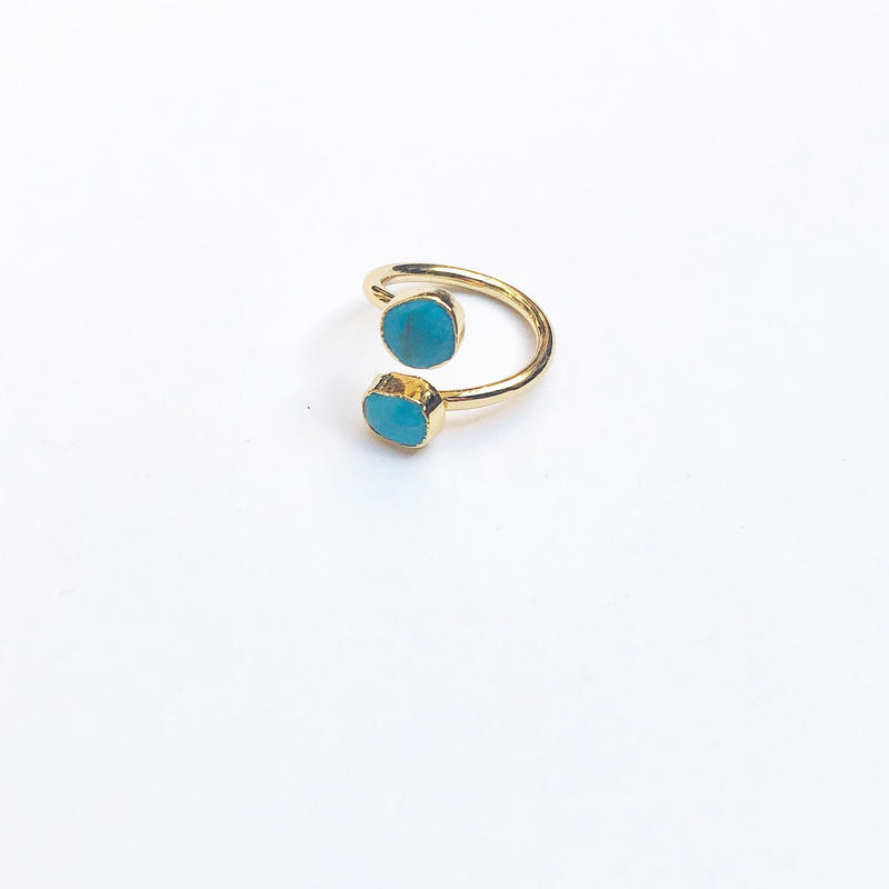 Greek Turquoise Ring