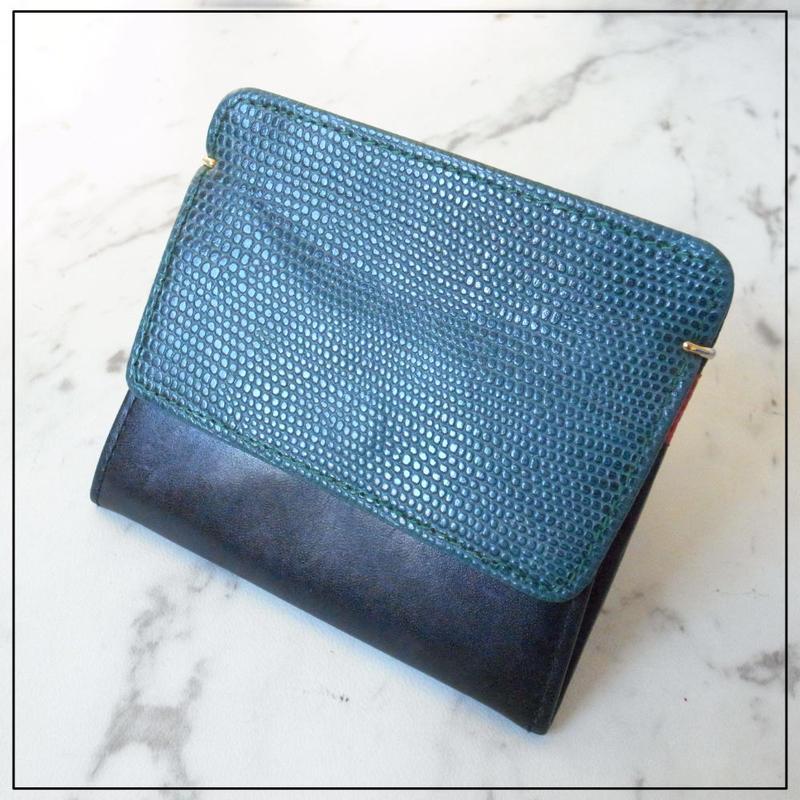 コインケース マネーケース カードケース ミニ 財布 バイカラー