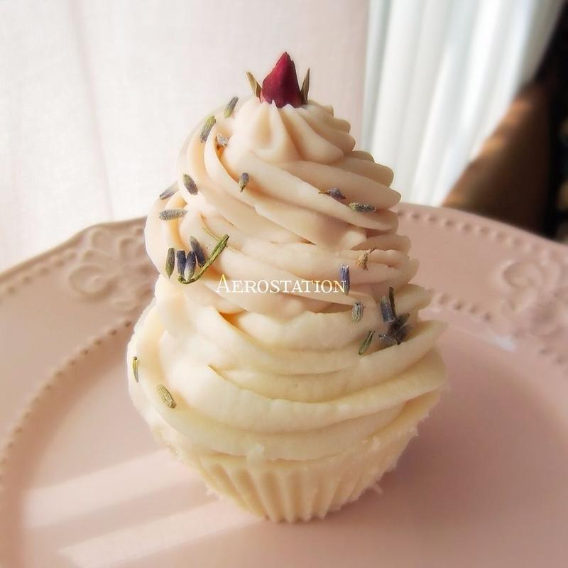 シアバターカップケーキ ダブルクリーム 2個セット