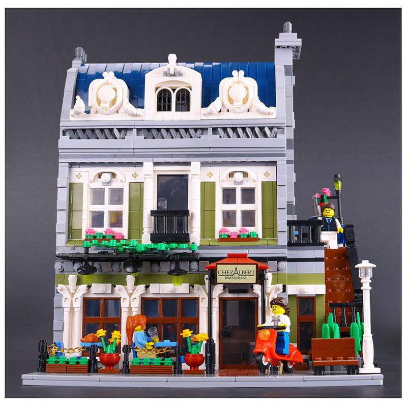 レゴ ( LEGO ) 互換品  パリのレストラン ブロック 10243 ◆ レゴブロック 互換 ◆
