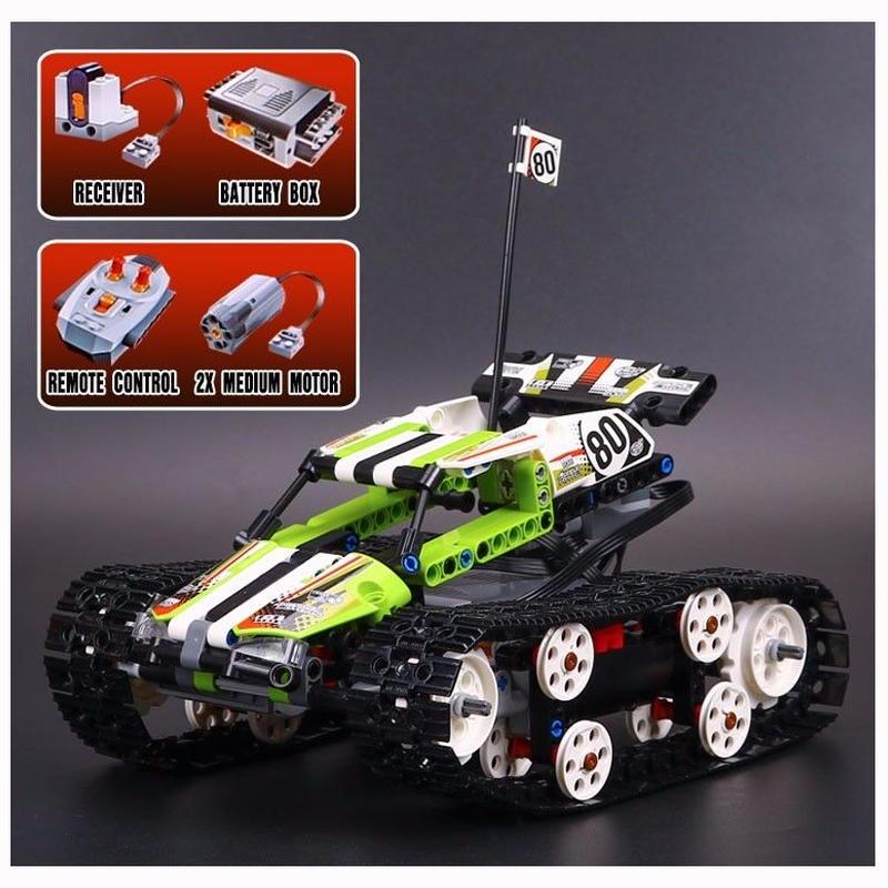 レゴ互換品 テクニック RCトラックレーサー レゴブロック互換