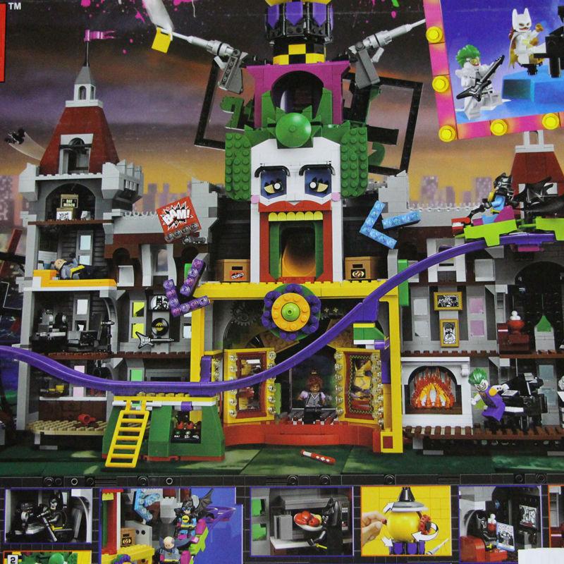 レゴ互換品 バットマンムービー ジョーカーManor LEGO互換 3857ピース