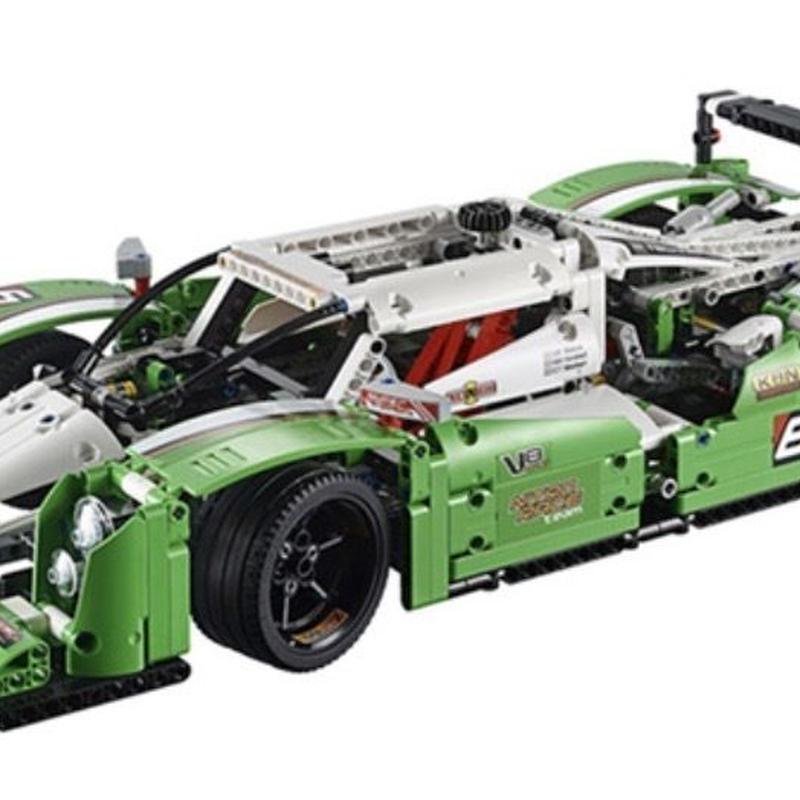 レゴ互換品 24時間レース レーシングカー テクニックシリーズ LEGO互換 1249ピース