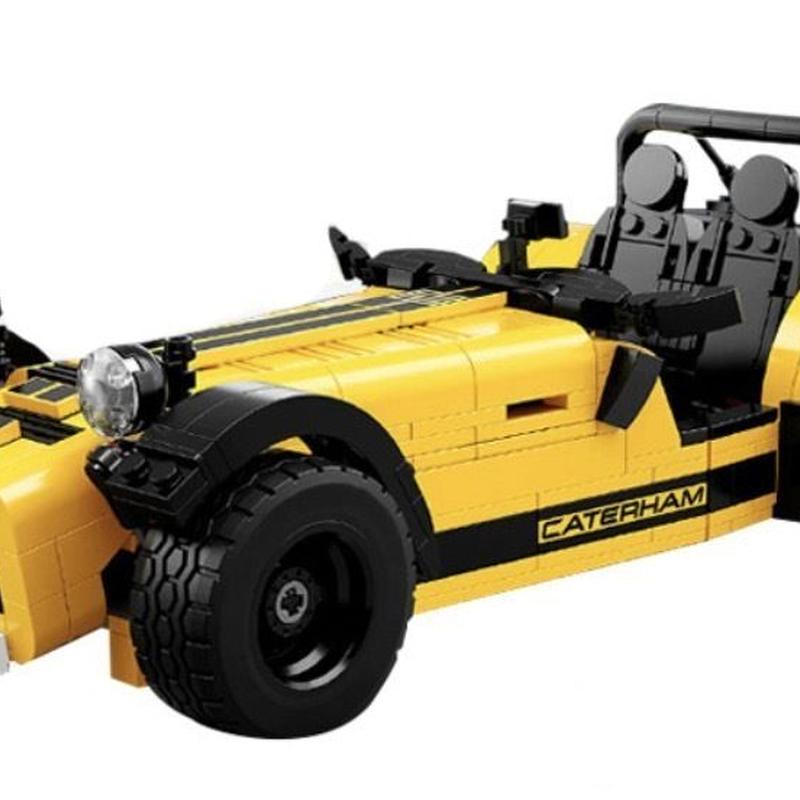 レゴ互換品 ケータハム 620R イエロー Caterham LEGO互換 771ピース