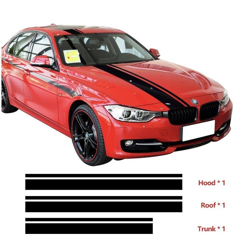 BMW用 ステッカー ボンネット ルーフ トランク F30 F31 F32 F34 F36 E90 E92 E46 M3 M