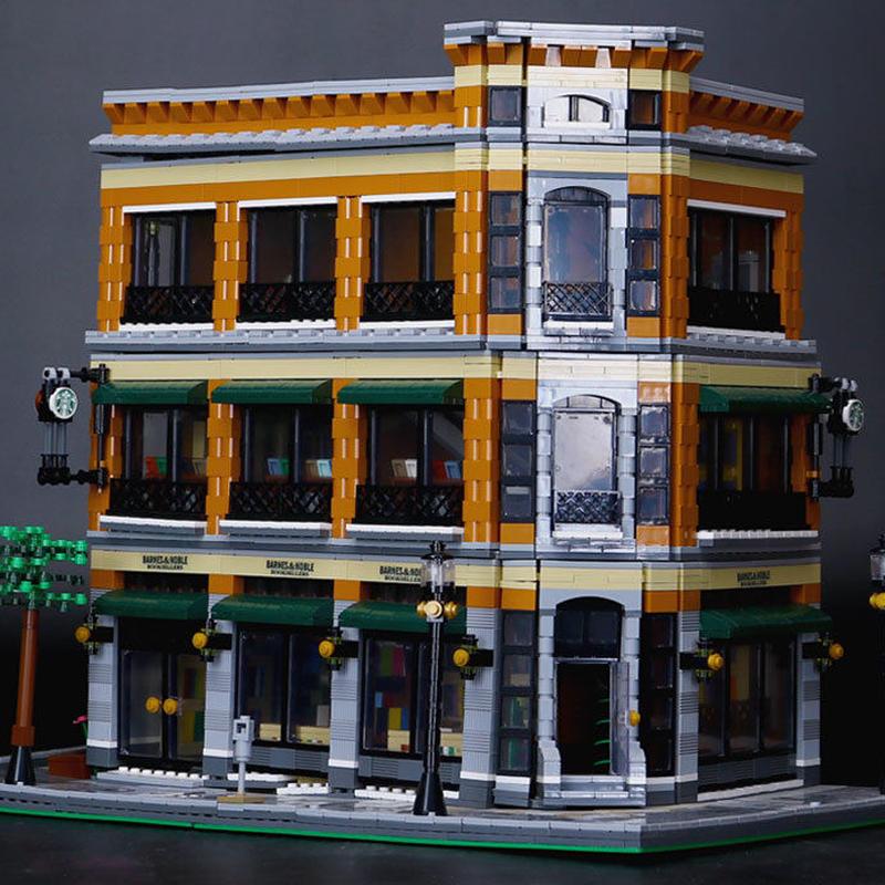 レゴ互換品 LEGO互換 クリエイター スターバックス ブックストアビルディン
