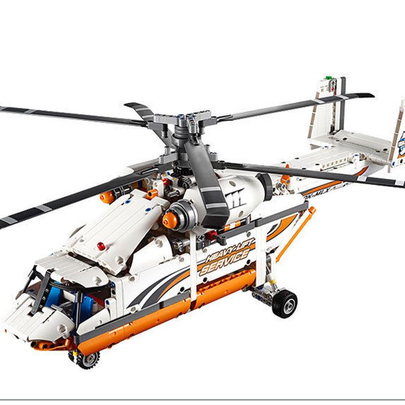 レゴ互換品 テクニック ヘビーリフト ヘリコプター   LEGO互換