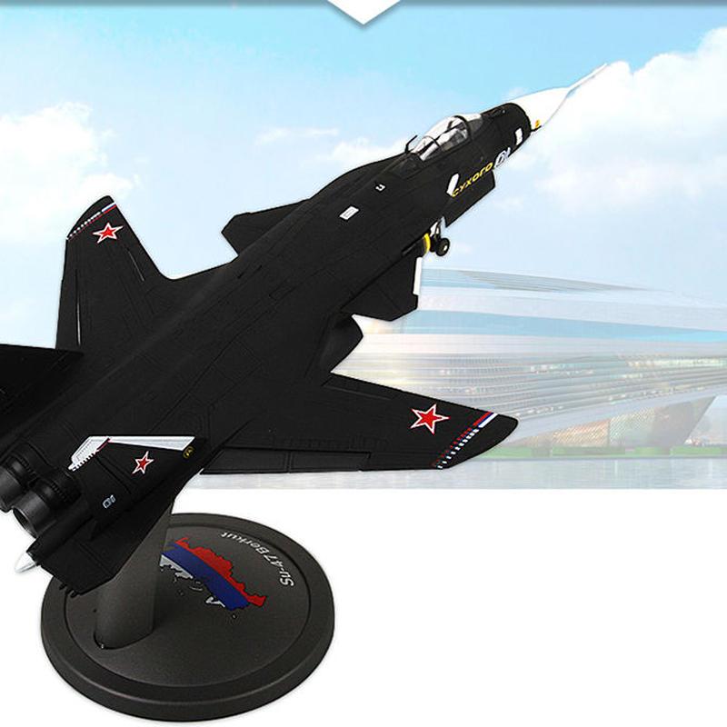 【新品】1/72 Su-47 スホーイ47 モデルエアクラフト 航空機