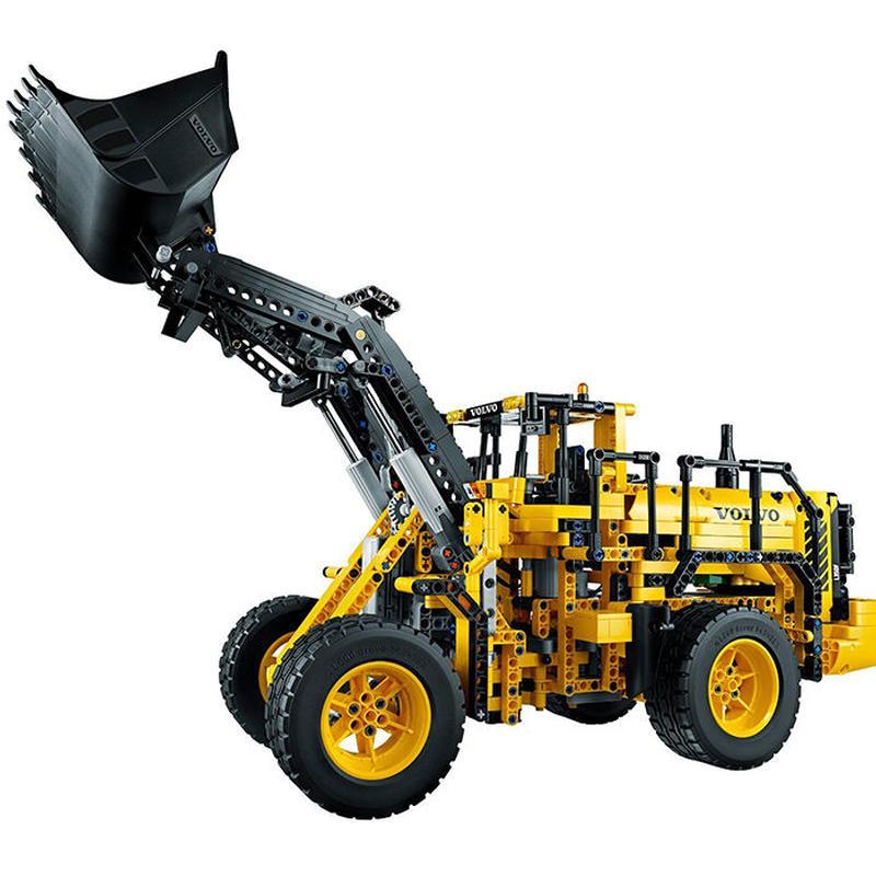 レゴ互換品 テクニックシリーズ ボルボL350F ホイールローダー 1636ピース