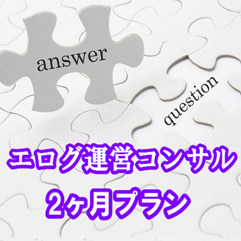 エログ運営コンサルティング~2ヶ月プラン~