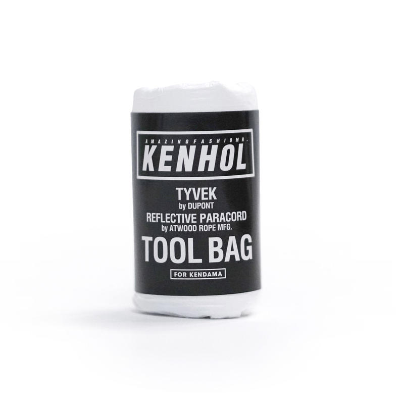 TOOL BAG  TYVEK by DUPONT  REFLECTIVE PARACORD by ATWOOD ROPE MFG.