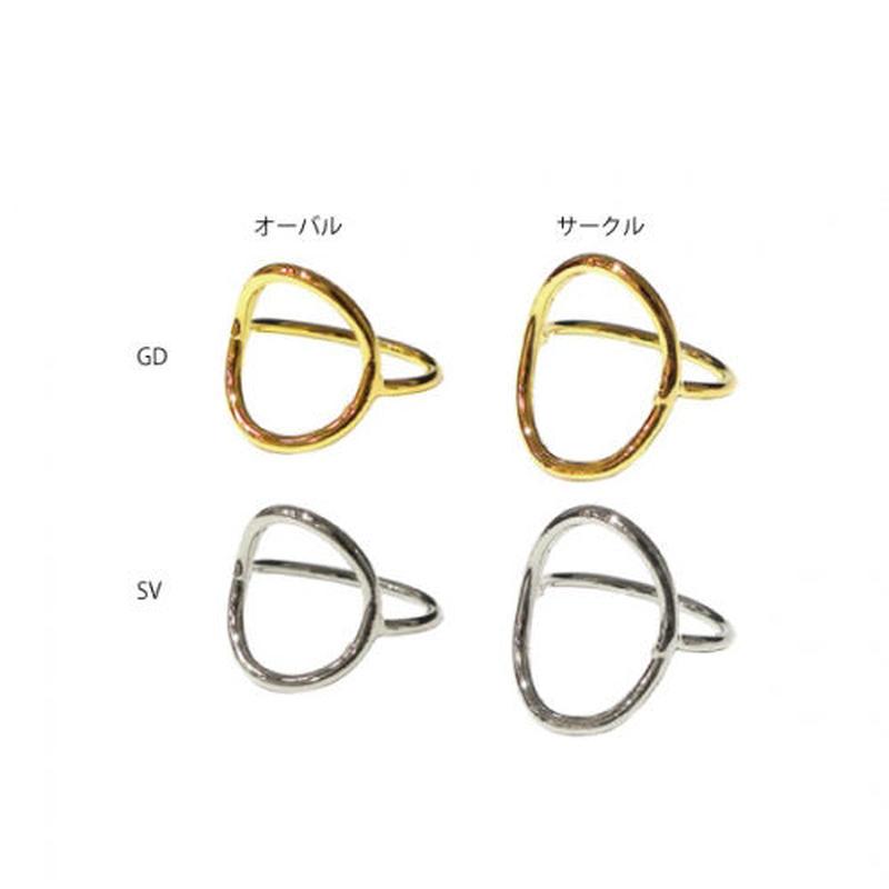 r054 サークル/オーバル デザインリング