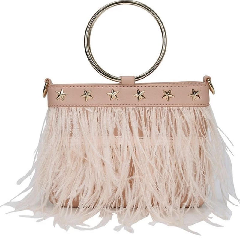 star feather 2way bag