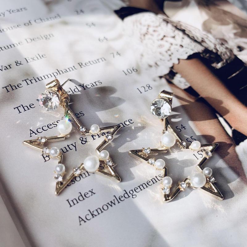 star  pearl 2way pierce