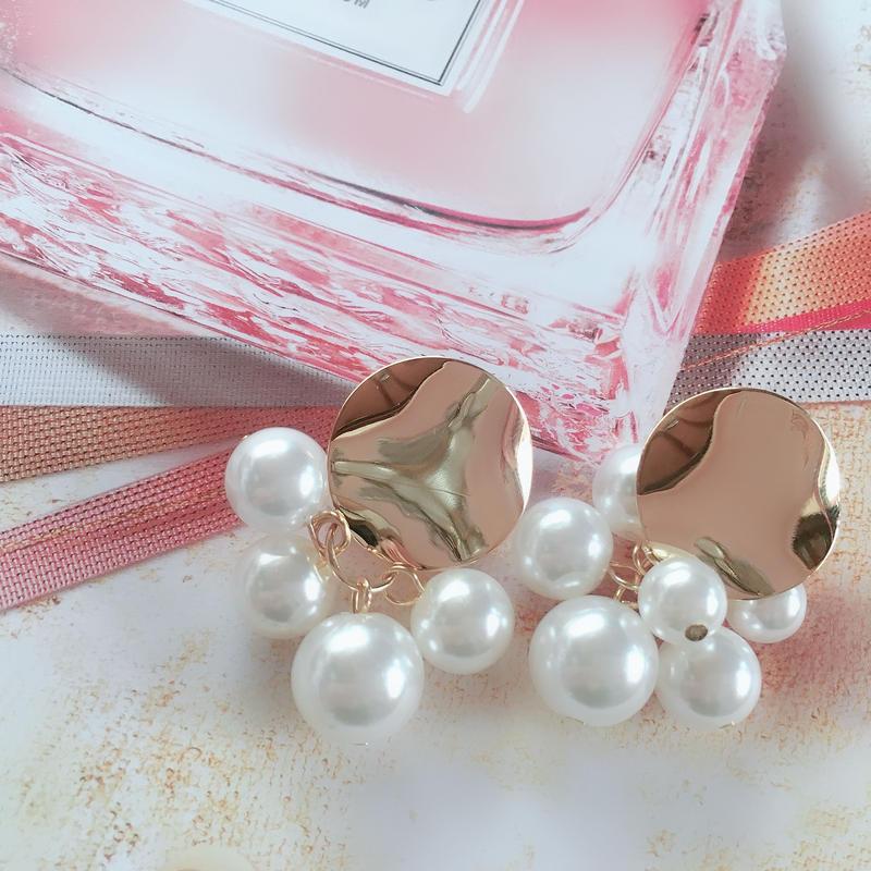 pearl × metalgold  pierce
