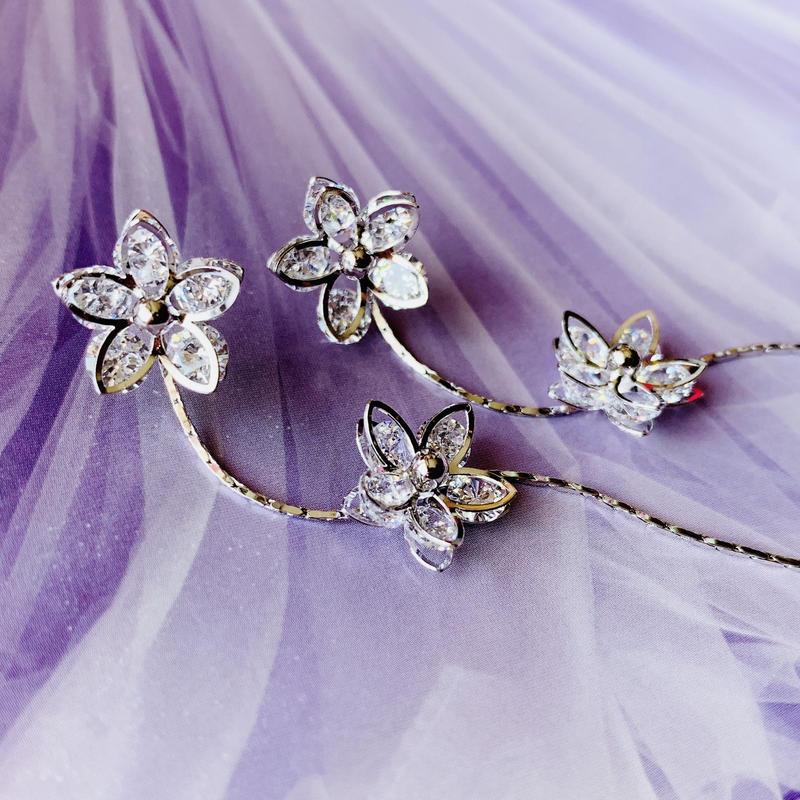 flower long  sway  pierce