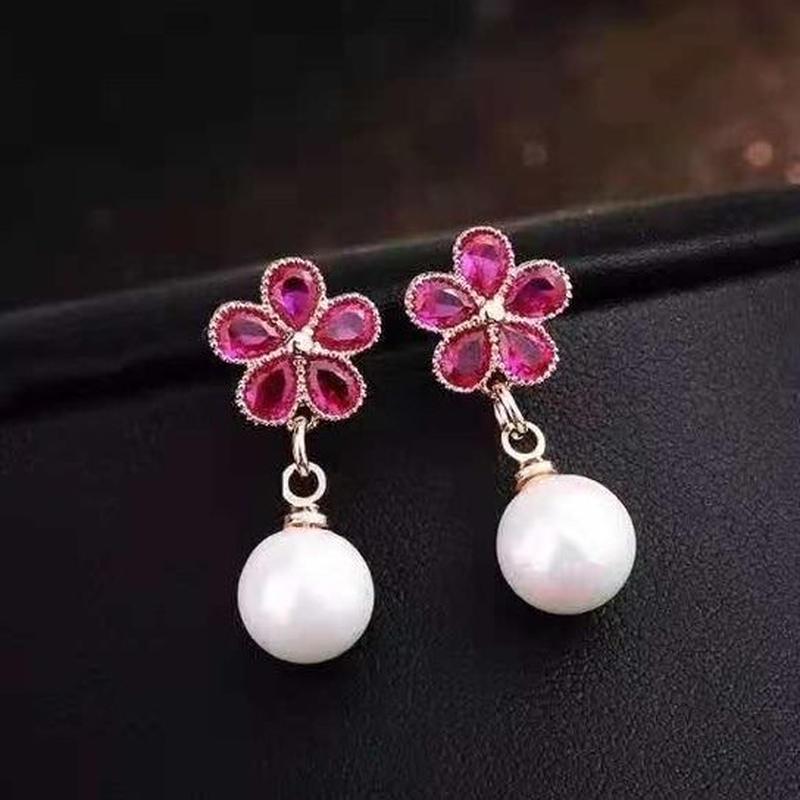 flower × pearl pierce