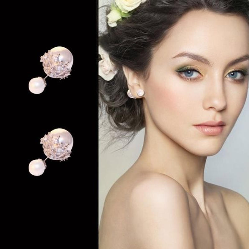 bridal pearl  catch pearl