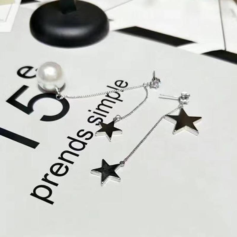 star × perl chain pierce