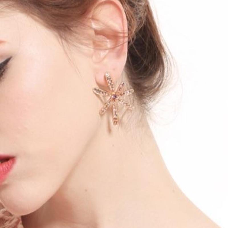 flower pink pierce