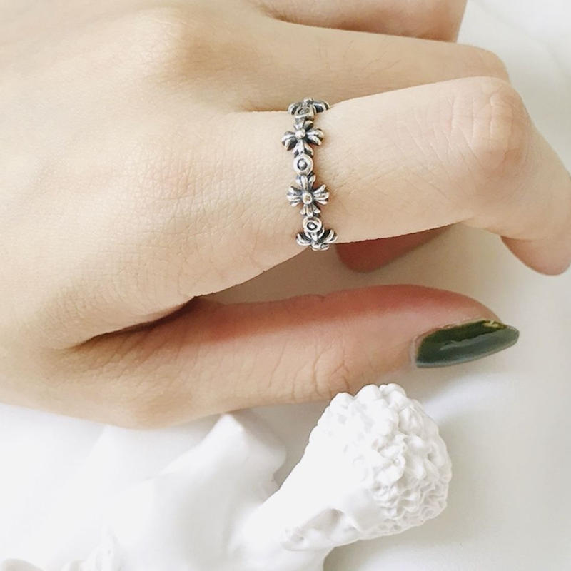 silver925 vintage ring