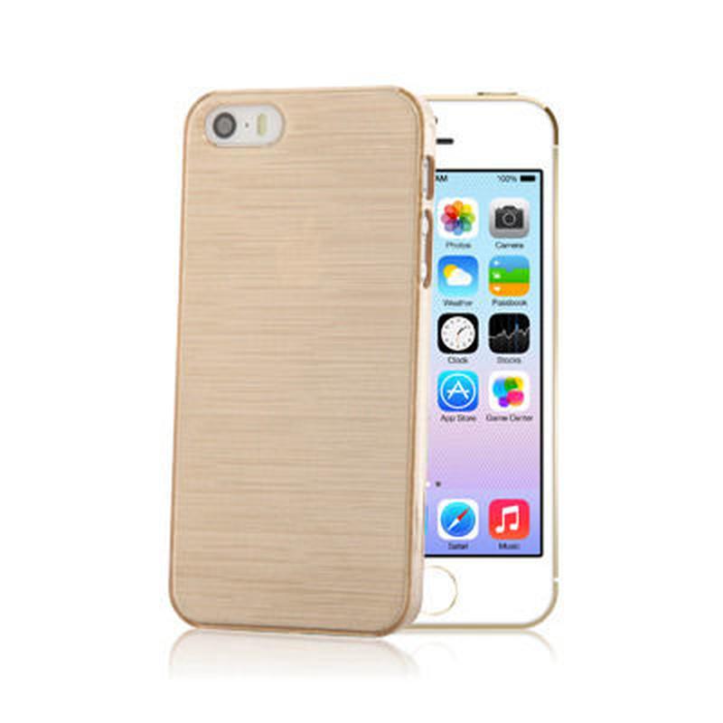 【SALE】iPhone5/5s スケルトンケース シャンパンゴールド