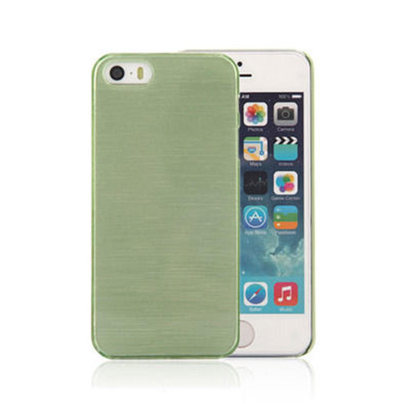 【SALE】iPhone5/5s スケルトンケース モスグリーン
