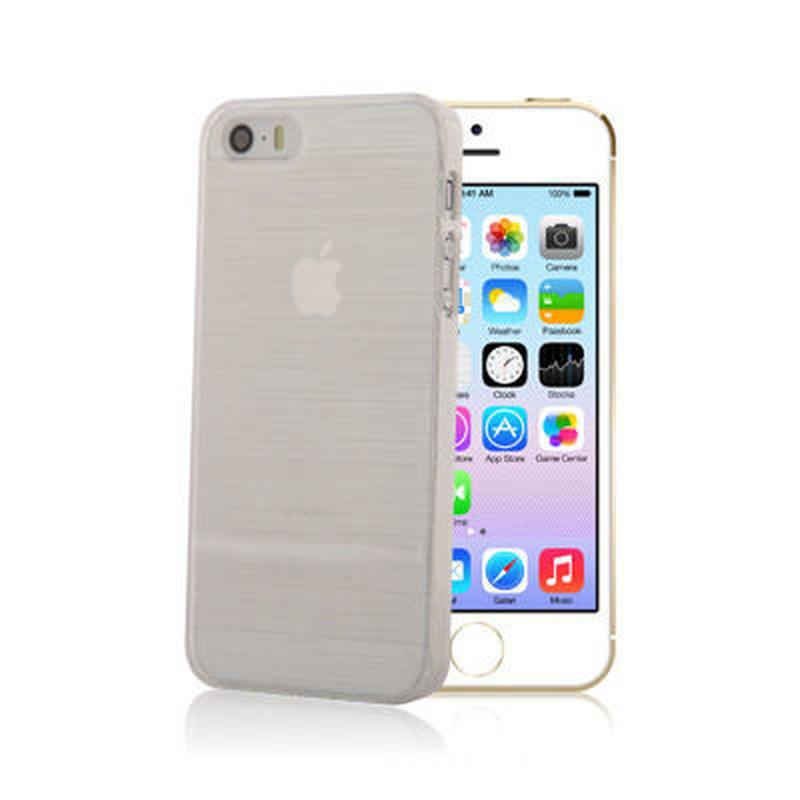 【SALE】iPhone5/5s スケルトンケース ホワイト