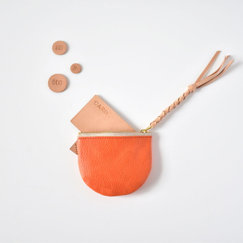 suzumeno pouch (orange)
