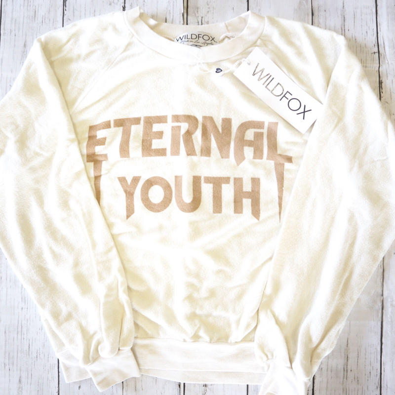 Eternal junior seatshirts  /  Wildfox