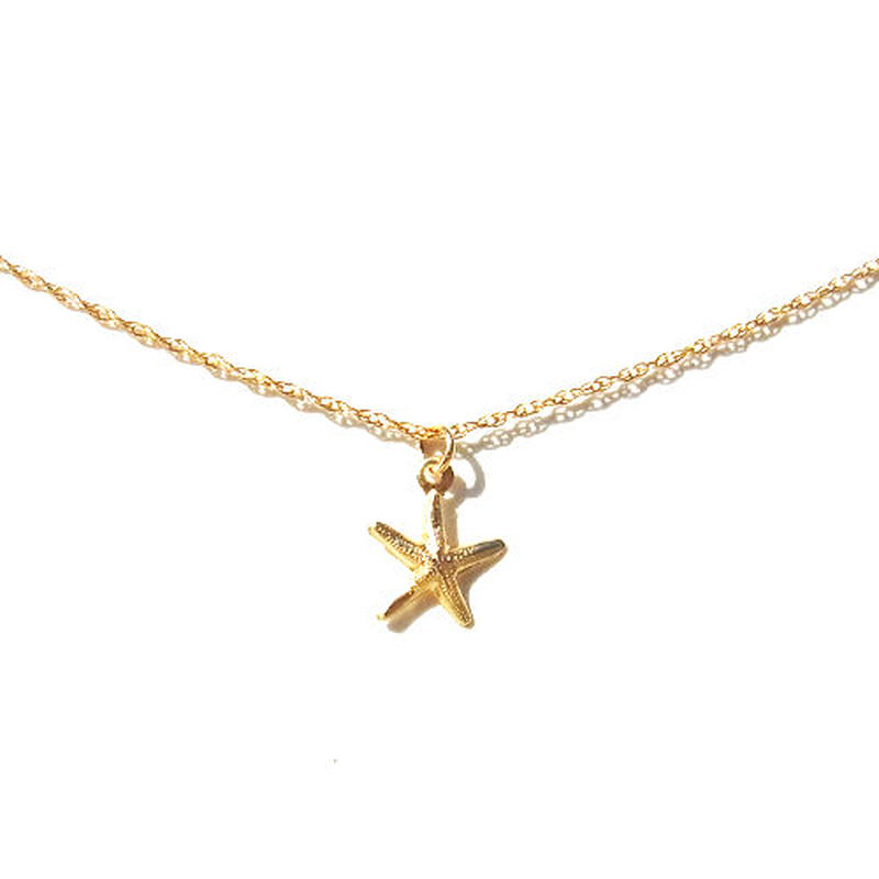 Skinny Necklace -starfish- Type A
